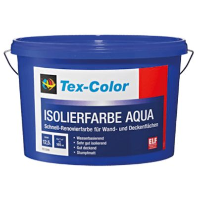 Isolierfarbe Aqua